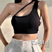 克妹Ke-Mei【AT70249】Limit爆乳神器不規則斜肩鎖骨罩杯內衣