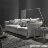 布藝沙發現代簡約客廳整裝三人位乳膠四人位直排北歐沙發小戶型CY 印象家品旗艦店