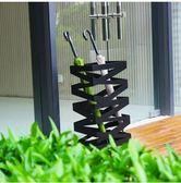 歐式韓版通用 長方形鐵不銹鋼烤漆大容量創意感雨傘桶防潮雨傘架(MT-3黑色)