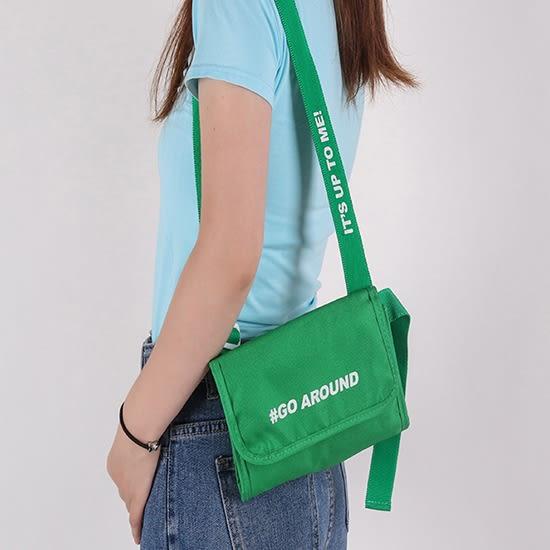 腰包 肩背包 側背包 防盜 收納袋 單肩包 證件包 學生包 多背式斜背包✭米菈生活館✭【J135】