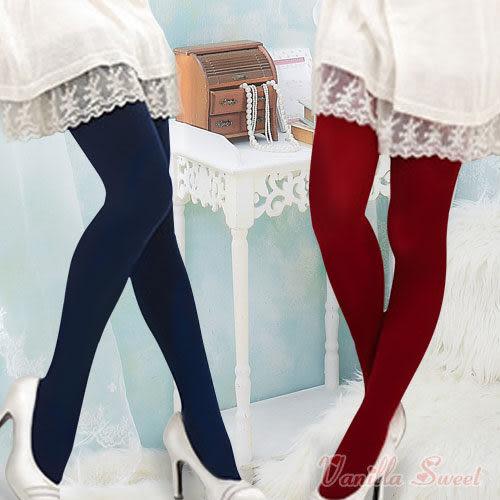 220丹厚款天鵝絨保暖褲襪 百搭性感 纖腿美型 - 香草甜心