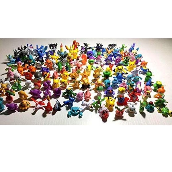 [9美國直購] 迷妳動作人物動漫 144pcs Monster Mini Action Figures Anime Cute Toys for Kids Gift
