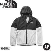 【The North Face 男 防風防曬外套《灰/黑》】49B2/薄外套/防風外套/防曬外套