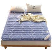 名莎粗布寬包邊耐壓床墊1.5m1.8米學生宿舍榻榻米床墊床褥   瑪奇哈朵