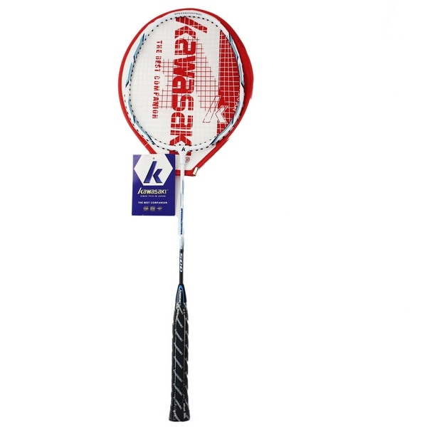 Kawasaki 川崎羽球拍 KB500/一支入(定500) 附拍袋 有穿線 羽毛球拍 羽拍-群KBA0500