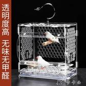 鳥籠子鸚鵡籠外帶養殖籠相思珍珠文鳥小型便攜小鳥籠鸚鵡籠子 【快速出貨】YYJ