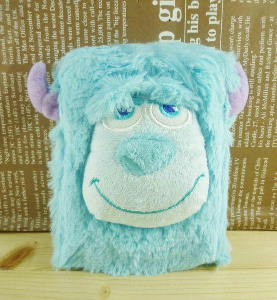 【震撼精品百貨】Monsters University_怪獸大學~摺疊鏡-絨毛材質-毛怪圖案