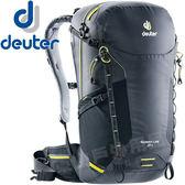 Deuter 3410418_黑色 Speed Lite 24L輕量透氣背包 健行包/單車後背包/自助旅行包