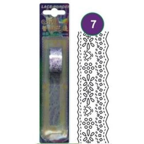 《☆享亮商城☆》WLB02-3 紫 自黏紙蕾絲花邊 AP