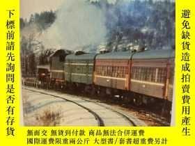 二手書博民逛書店艾克•紐比:搭上紅色列車罕見Big Red Train Ride