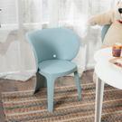 趣味造型椅-大象(天空藍)