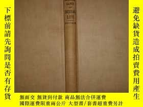 二手書博民逛書店The罕見Natural Laws of Sexual Life