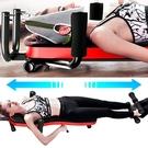 保健速立挺拉背機+頸椎頭帶.脊椎伸展機牽引床.頸椎牽引器拉伸腰椎牽引機.拉背器挺背機拉筋板
