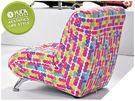 沙發【YUDA】Color Saturation 個性塗鴉 休閒椅/沙發椅/設計椅  J8S 159-7
