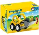 Playmobil 摩比 6775 123系列推土機