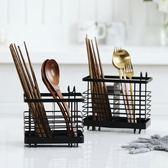 筷子籠架筷籠子盒家用免打孔餐具收納
