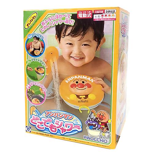 《 麵包超人 》ANP 蓮蓬頭洗澡玩具 ╭★ JOYBUS玩具百貨