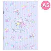 Sanrio 大耳狗喜拿日本製A5平裝橫條筆記本(繽紛糖果)★funbox★_149098