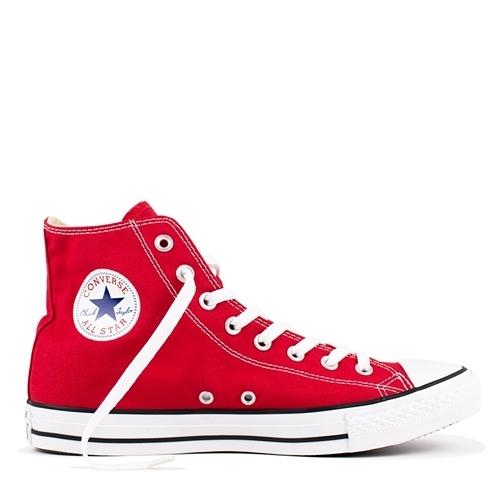 CONVERSE Chuck Taylor All Star -男女基本款高筒紅休閒鞋- NO.M9621C