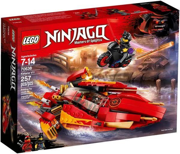 樂高LEGO NINJAGO 卡塔那 V11 70638 TOYeGO 玩具e哥