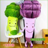 《超大》蔬菜 花椰菜 絨毛 療癒 娃娃 男友枕頭 抱枕 情人節 禮物 現貨 婚禮小物 100cm D12273