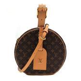【台中米蘭站】全新品 Louis Vuitton 新款 PETITE BOITE CHAPEAU  手提/斜背 二用包(M43514)