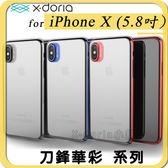 X-Doria刀鋒華彩系列 透明 輕薄 防摔 保護殼 IPhone X 旗艦版