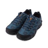 LOTTO 靜態防水低筒戶外登山鞋 藍 LT1AMO3586 男鞋