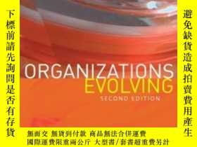 二手書博民逛書店Organizations罕見EvolvingY256260 Howard Aldrich Sage Publ
