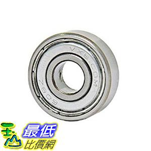 [106美國直購] Bearing 608ZZ Shielded 8x22x7 Miniature Ball Bearings(Pack of 10)