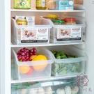 2個裝 冰箱食物保鮮盒透明食品收納儲物盒收納盒【櫻田川島】