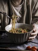 拉面碗家用飯碗陶瓷碗瓷碗大碗日式餐具沙拉碗意面碗大號湯碗 快速出貨八八折柜惠