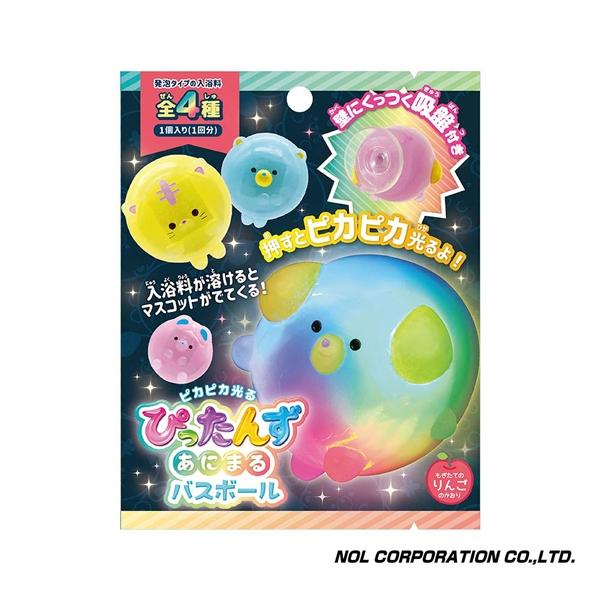 日本NOL 閃爍泡泡君 入浴球/沐浴球 (泡澡用品 洗澡玩具 沐浴精 入浴劑)