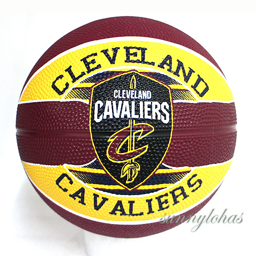 【SPALDING 斯伯丁】 NBA籃球 Jr 兒童3號球 Cavaliers 騎士隊徽 SPA83603 [陽光樂活]