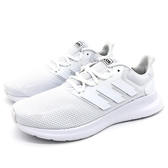《7+1童鞋》ADIDAS RUNFALCON 輕量 透氣 運動 慢跑鞋 7410 白色