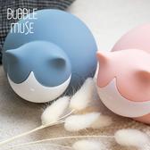 【慵懶貓咪可加熱輕巧暖水袋】兩色售|BUBBLE MUSE x 氣泡小姐