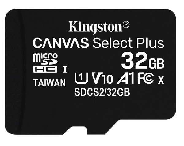 KINGSTON 32GB 32G microSDHC【100MB/s-PLUS】microSD SDHC micro SD UHS U1 TF C10 Class10 SDCS2/32GB 金士頓 手機 記憶卡