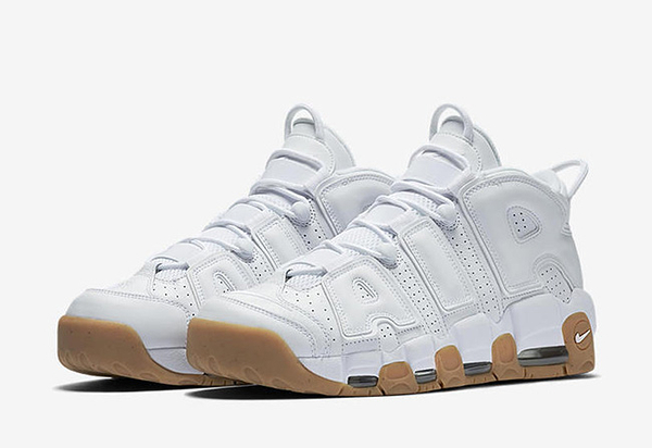 NIKE AIR MORE UPTEMPO RELEASE 415082-101 男童 白 運動鞋 NI020