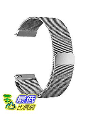 [美國直購] Oitom 銀色 S 5.5吋-6.7吋 不鏽鋼錶帶 Samsung Gear S3 Classic/Gear S3 Frontier StainlessSteel Watch BandD07