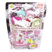 〔小禮堂〕Sanrio大集合 造型入浴球《6款隨機.粉.愛心》入浴劑.泡澡球 4549660-15199