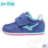 MIZUNO美津濃  TINY RUNNER 4  (藍紫)  兒童專用楦頭 日本同步