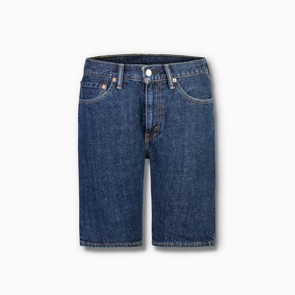 Levis 男款 牛仔短褲 男裝 / 505 中腰標準直筒/ 無彈性