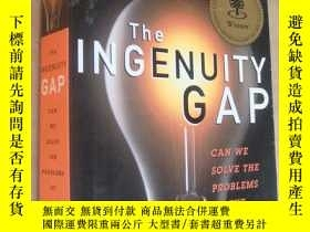 二手書博民逛書店The罕見Ingenuity Gap:can we solve