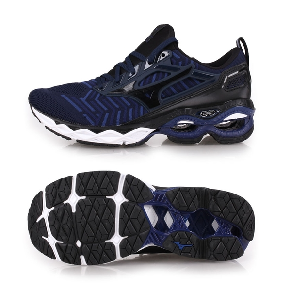 MIZUNO WAVE CREATION WAVEKNIT 男慢跑鞋(免運 路跑≡體院≡ J1GC1933