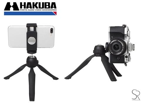 HAKUBA E-POD Grip 手機相機桌上型腳架 高度14.3 收合高19.5mm【HA106367】for gopro