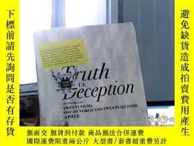 二手書博民逛書店Truth罕見us Deception(有盤)Y19434
