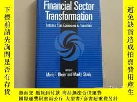 二手書博民逛書店Financial罕見Sector Transformation