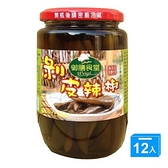 御膳食堂剝皮辣椒380g*12【愛買】