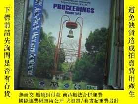 二手書博民逛書店2001asia-pacific罕見microwave conference proceedings vol 3