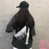 小包包質感斜挎腰包女潮休閑胸包嘻哈包側背包【匯美優品】